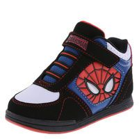 Boys' Toddler Spider-Man Skate Hi-Top, Black/White