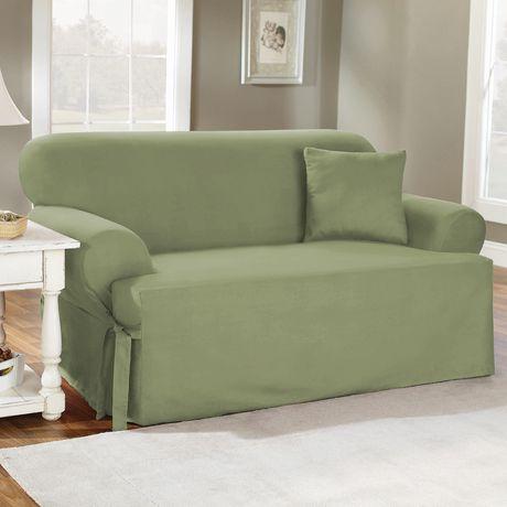Cotton Duck Sofa Slipcover