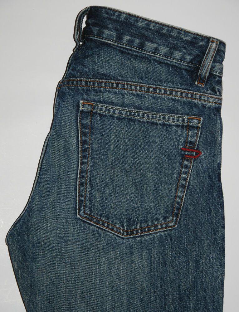 33a947d424 DIESEL JEANS RABOX STRAIGHT LEG BLUE JEANS W29 L32 MADE IN ITALY ...