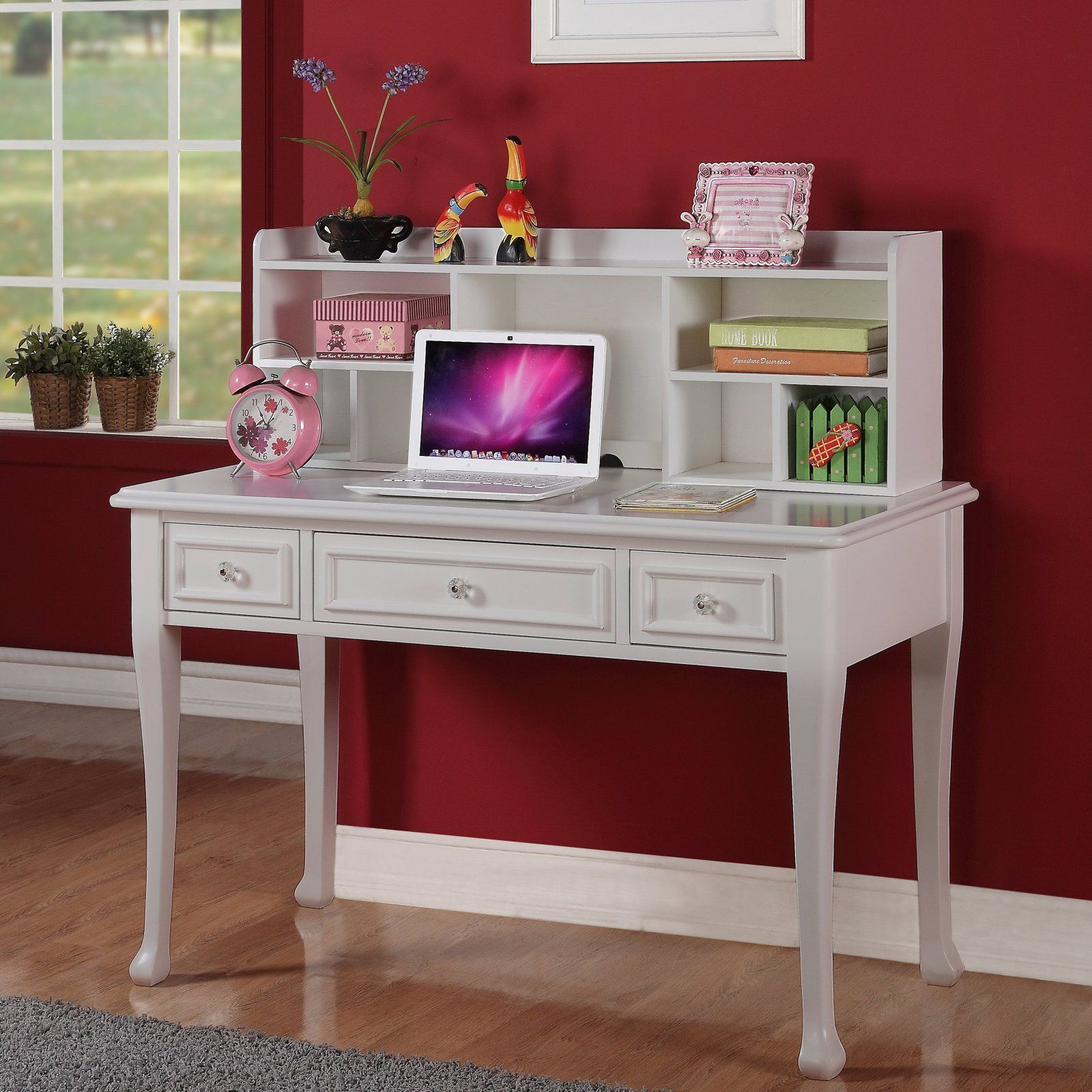 picket house furnishings jesse 3 drawer desk white in 2019 rh pinterest com