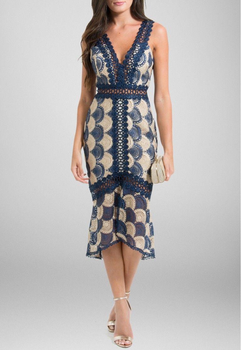 3e80c7a5d1 vestido-bel-midi-rendado-sereia-iorane-dourado-e-azul