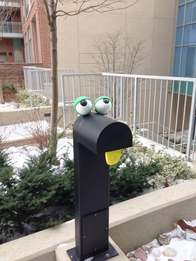 MonsterStreetArt Street Art Monsters And Street - Street artist turns street furniture into characters
