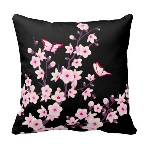 Cherry Blossom Pillow | in