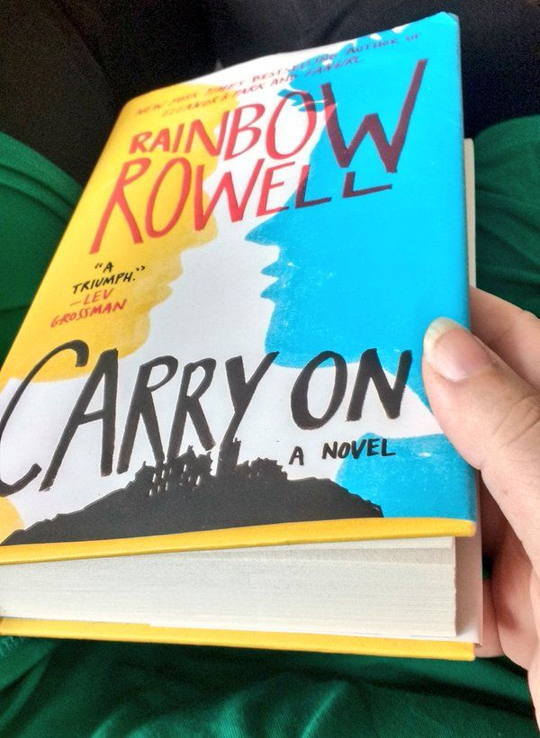A Linguist Livetweets Rainbow Rowell S Carry On With Images Gretchenamcc Rainbow Rowell Linguistics Rowell
