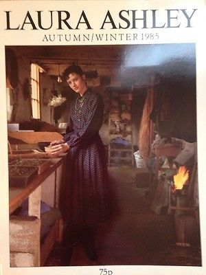 laura ashley 1985 autumn winter clothing catalogue laura ashley pinterest laura ashley. Black Bedroom Furniture Sets. Home Design Ideas