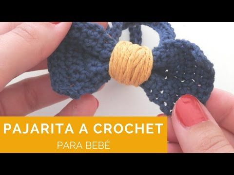 Pajarita a crochet ¡con vídeo-tutorial! - Manos con alma | Patrones ...