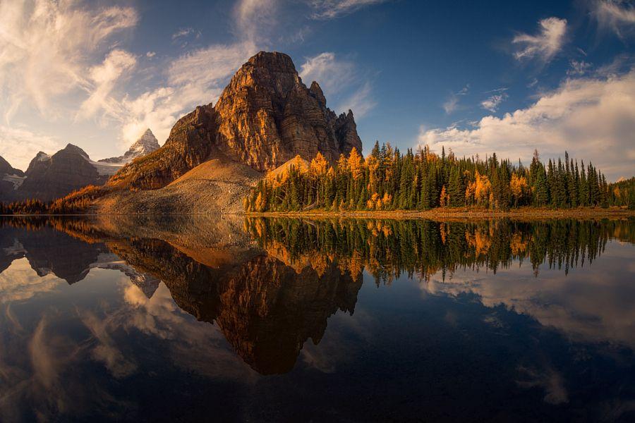Sunburst Peak by Alister Benn on 500px.com