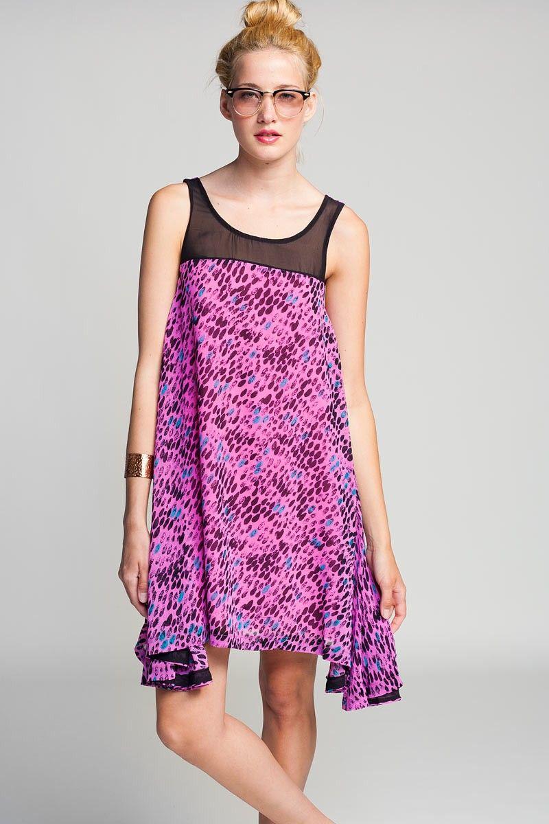 Koshka - Lucca Couture Leopard Tank Dress, $34.00 (http://www ...