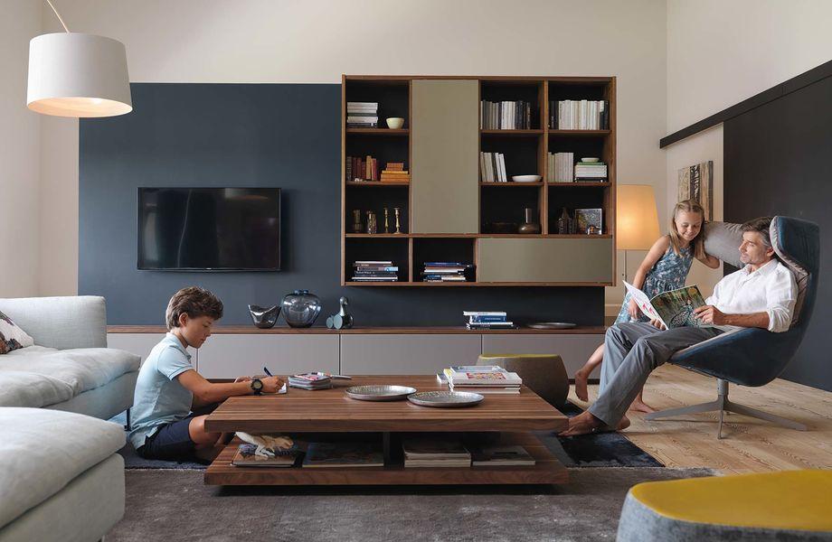 Wohnzimmer Wohnwand ~ Wohnzimmer wohnwand cubus mit c couchtisch interni
