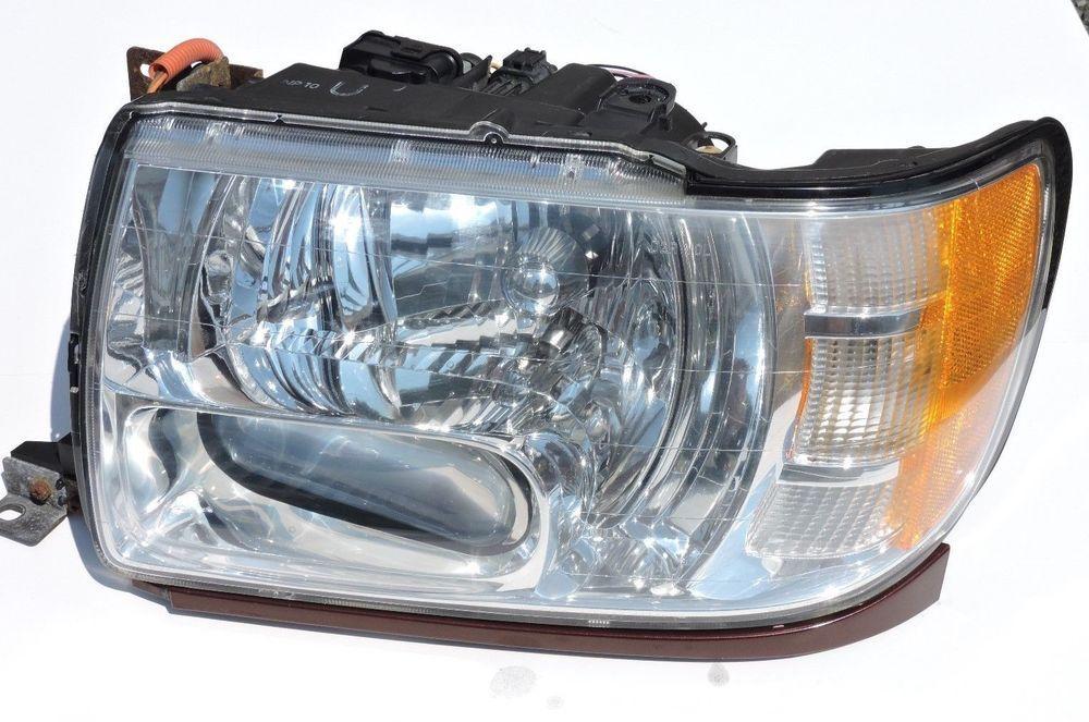 01 02 03 infiniti qx4 driver left side headlight head lamp lh head rh pinterest com