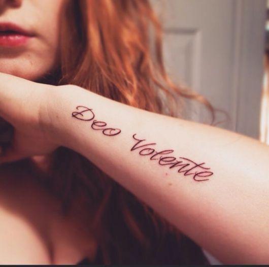 Exemplo De Frases Para Tatuagem Em Latim Tattoo Latim Tattoos