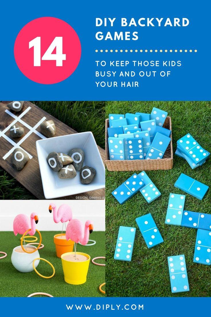 14 DIY Backyard Games To Keep Those
