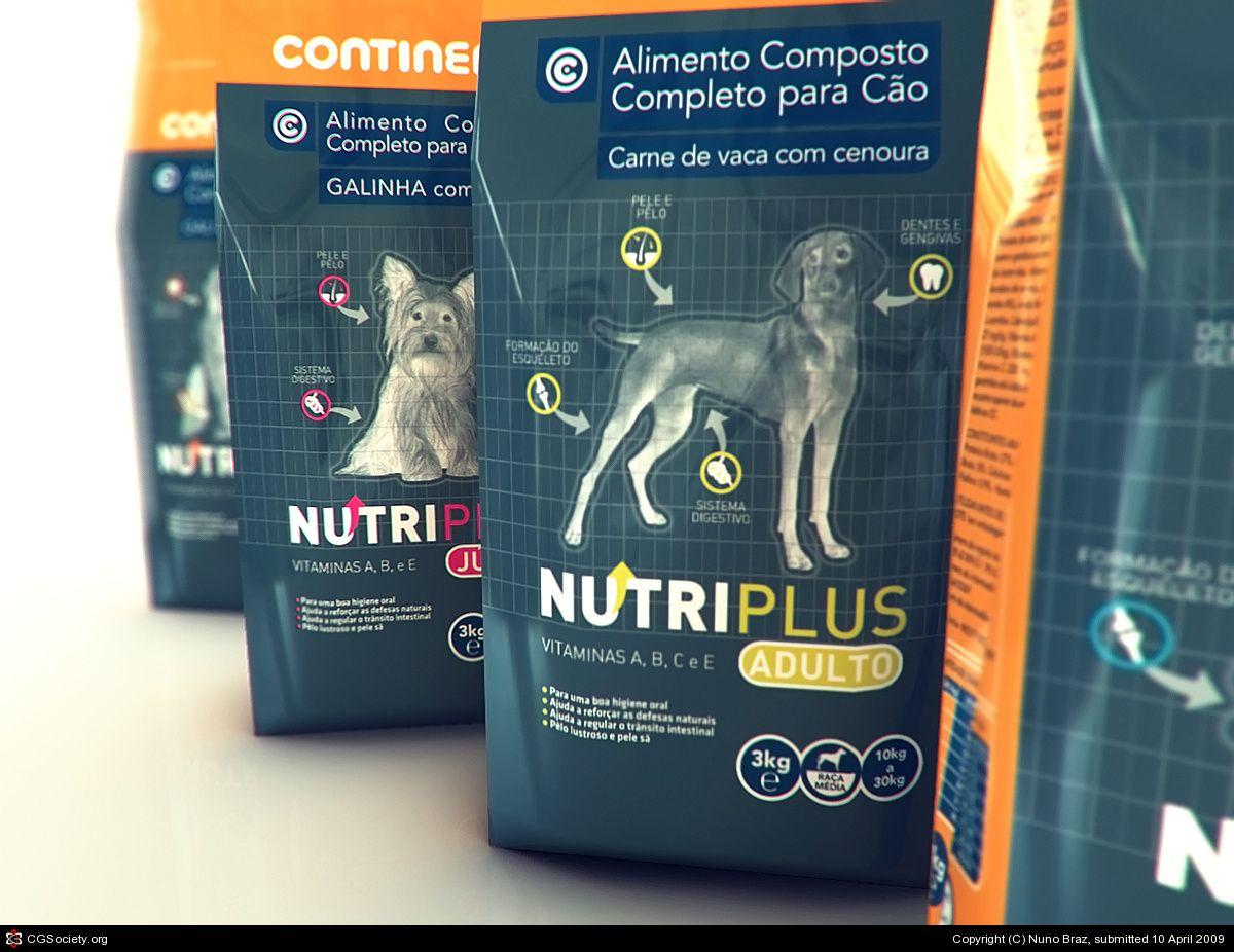 sonae pet food packaging by nuno braz 3d cgsociety hades and rh pinterest com