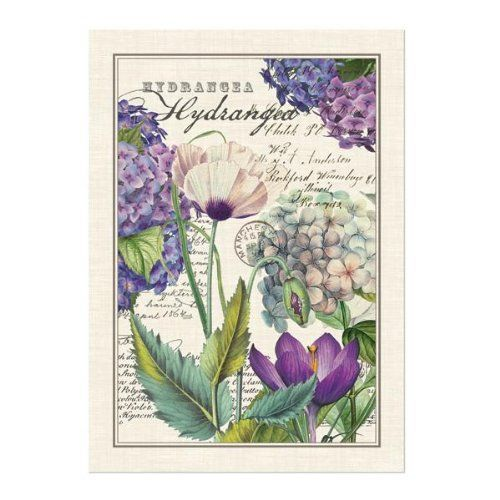Michel Design Works Kitchen Towel Hydrangea *** More Info Could Be Found At  The