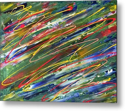 Organised Chaos Metal Print By Kelly Goss Acrylic Prints Abstract Canvas Prints