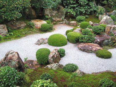 jardín zen japones con piedras Diseño de Jardines Pinterest - jardines zen