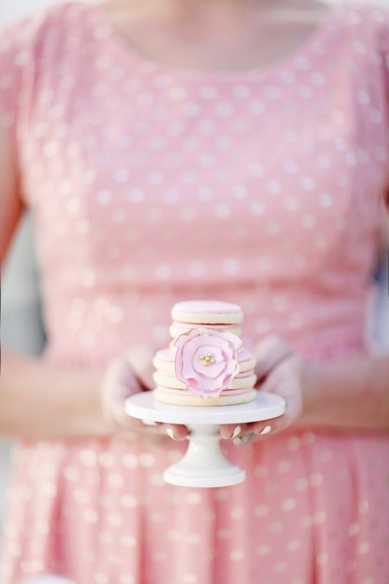 Mg party in bianco rosa e oro birthday idea pinterest
