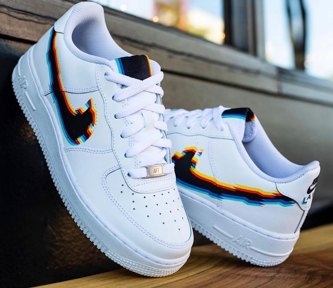 Glitch Swoosh Air Force 1s Rate these! Cop or Drop? Follow