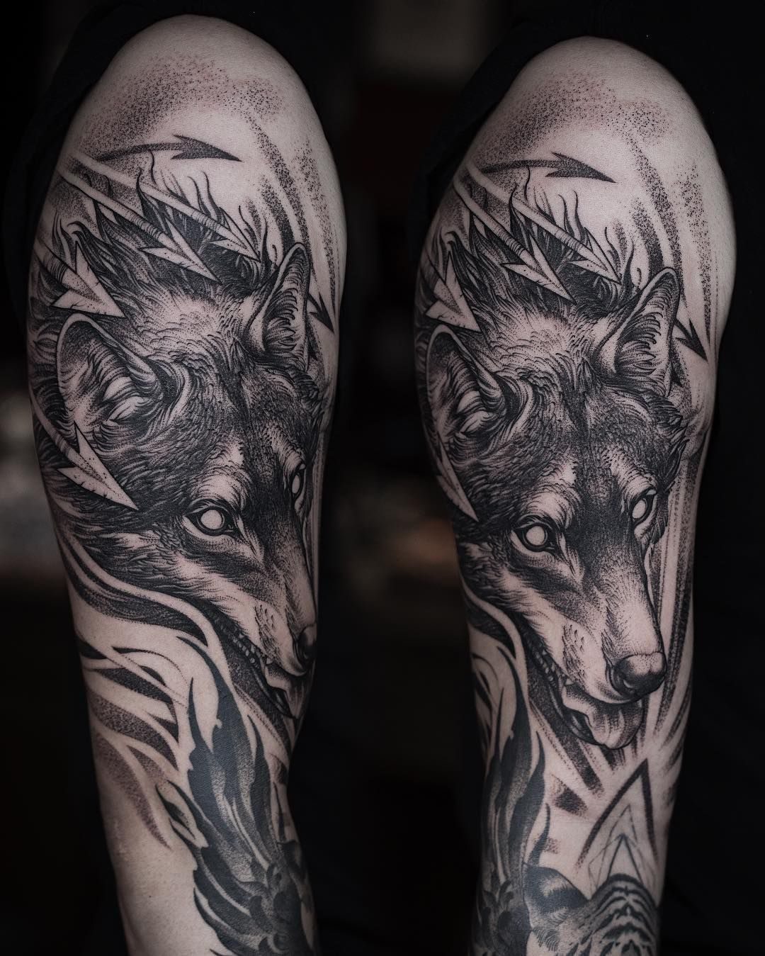 Cool Tattoo Ideas For Men And Women The Wild Tattoo Design Pictures 2019 In 2020 Wolf Tattoo Sleeve Wolf Tattoo Design Sleeve Tattoos