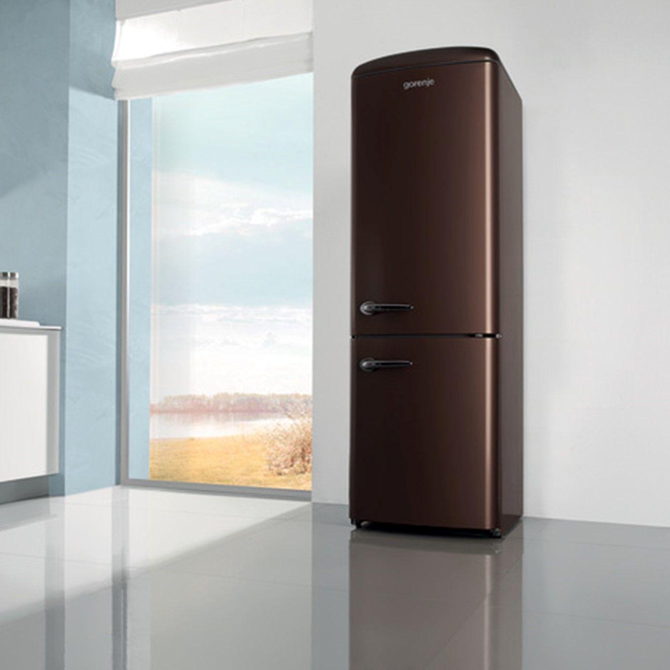 Gorenje De réfrigérateur couleur chocolat de la marque gorenje gorenje
