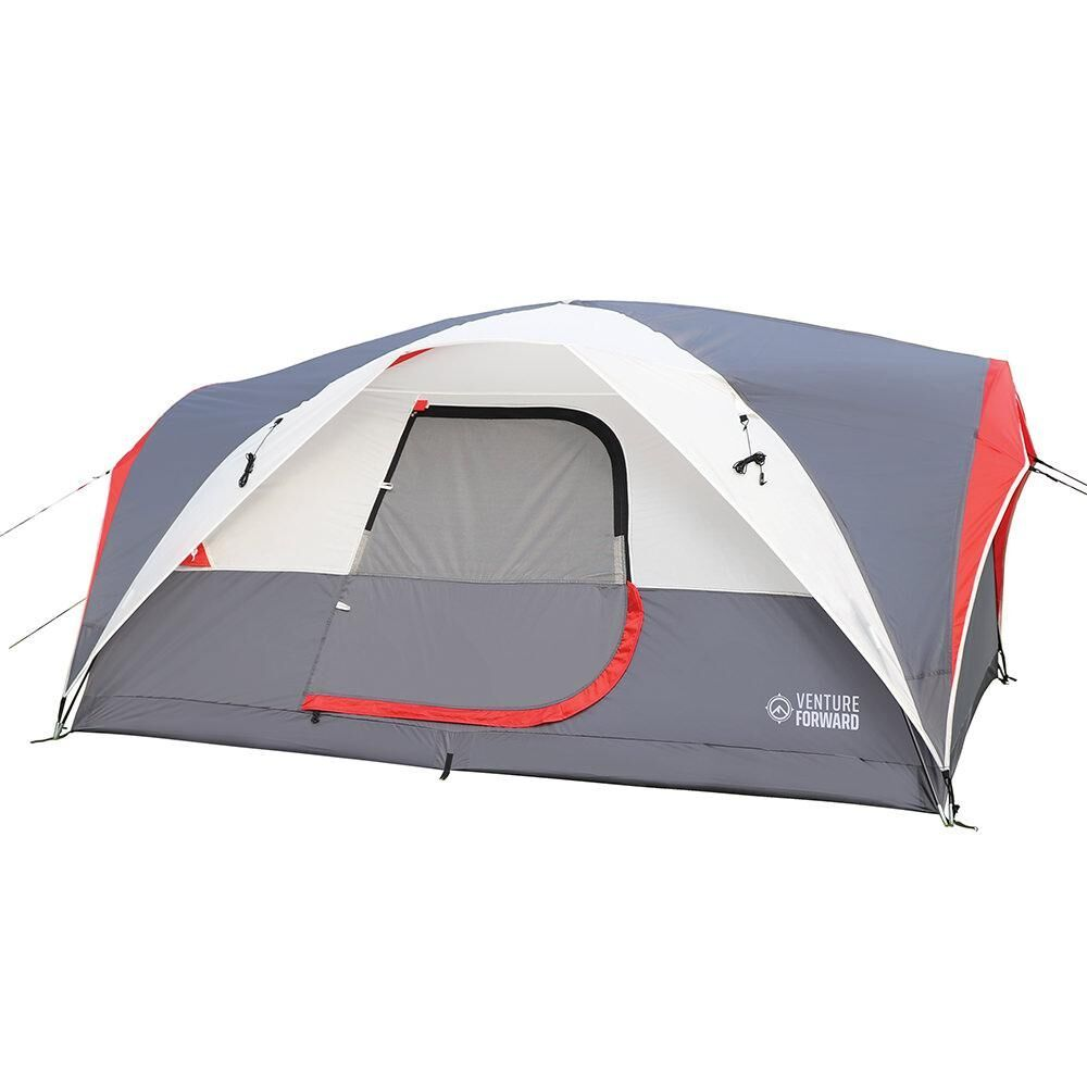 Camping Tent 4-Person Outdoor Family Picnic Hiking Dome With Storage Pockets