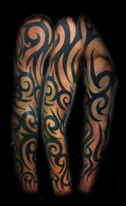 Tribal Tattoos Sleeves : tribal, tattoos, sleeves, Tribal, Tattoos, Women, Sleeve, Ideas., Tattoo…, Women,, Designs,