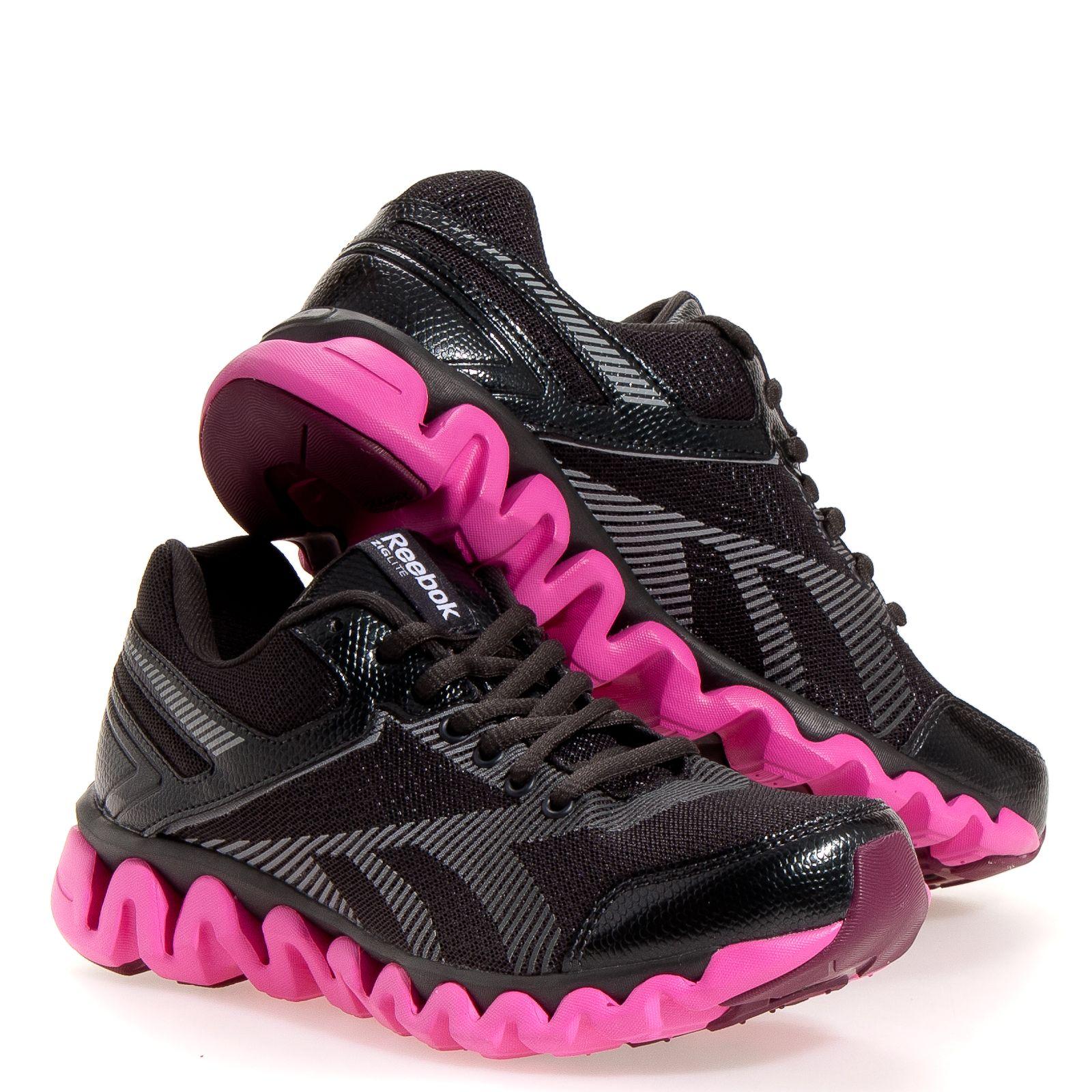 1e2c90c3a78f Reebok Ziglite Electrify Women s Running Shoes  Black 7
