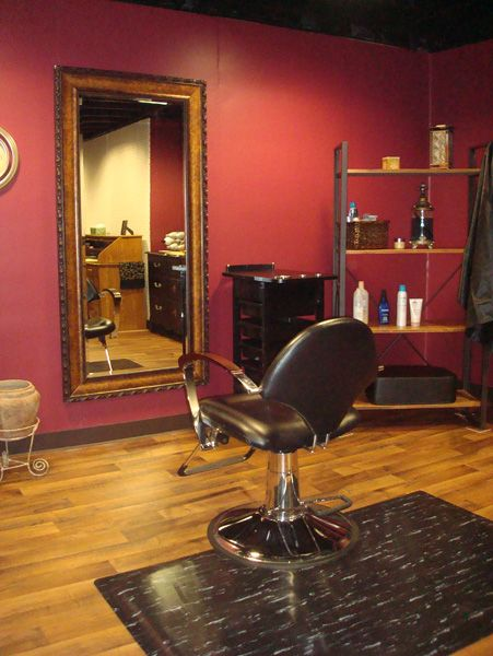 """this is my """"in home"""" hair salon.. think i just fell in LOVE."""