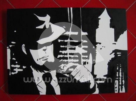 51-quadro-pop-art-popart-lupin-iii-terzo-rupan-sansei-lupin-the-third-dipinti-a-mano-vendo-cerco-compro-fijiko-margot-zenigata-jigen-goemon-azzumail
