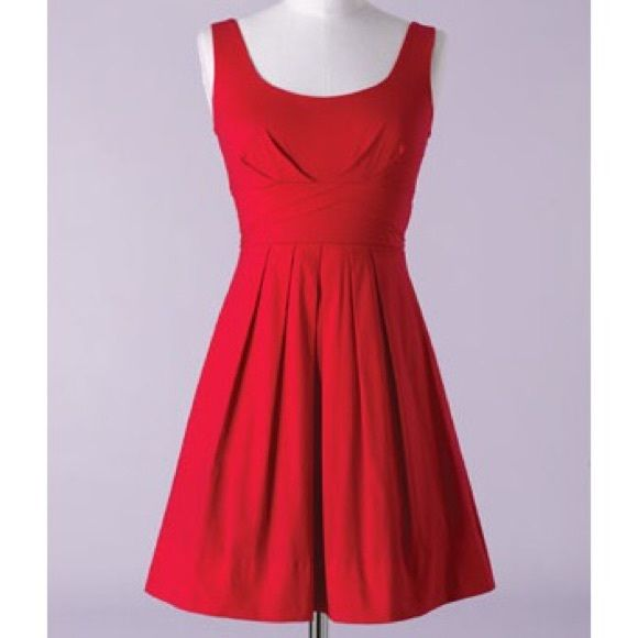 Short red Delia's dress with light tool worn once, beautiful red color, very light layer of about four inches of tool at the bottom hem, in incredible condition, fits true to size Dresses Mini
