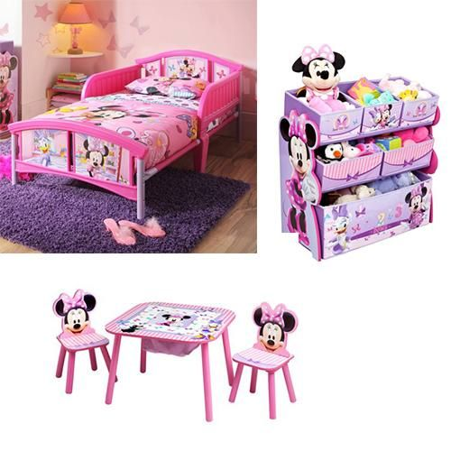 Cute And Worth To Buy Minnie Mouse Bedroom Set For Toddler