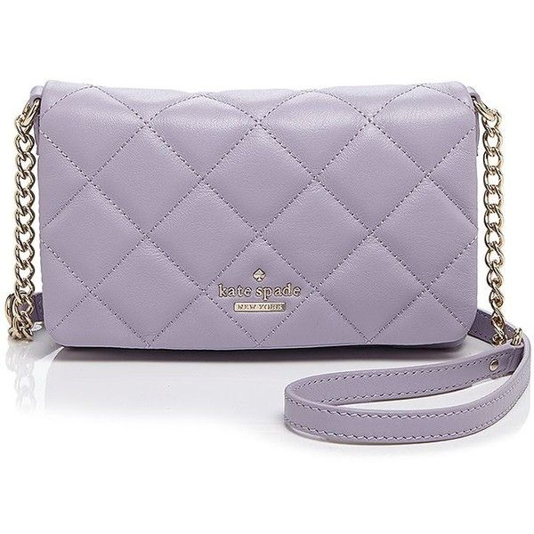 74b7b3a35 kate spade new york Crossbody - Emerson Place Julee ($139) ❤ liked on Polyvore  featuring bags, handbags, shoulder bags, violet, purple cross body purse,  ...