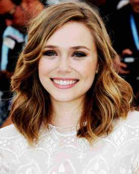 Long Bob Hairstyle For Fine Hair With Side Part And Waves