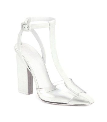 Alexander Wang Agata Leather T-Strap Sandals