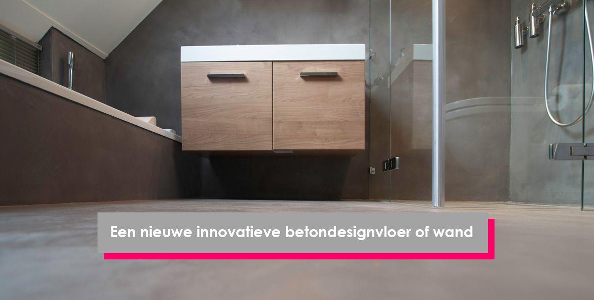Badkamer Stucen Betonlook : Badkamer stucen voor een betonlook in plaats van tegels? badkamer