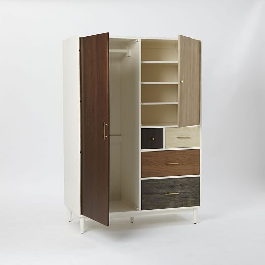 Patchwork Armoire Multi Retro Mid Century Furniture Armoire Furniture
