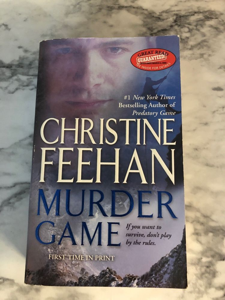 Murder Game Ghostwalkers Book 7 By Christine Feehan Books And