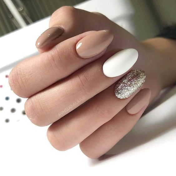 62 Fresh Design Ideas For Almond Shaped Nails In 2019 Elegant Nails Perfect Nails Cute Nails