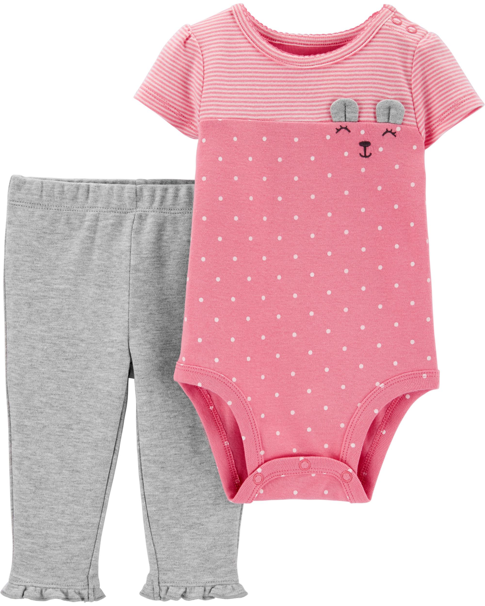 Ruffle Dots Pull-On Pants Carters Baby Girls 2-pk