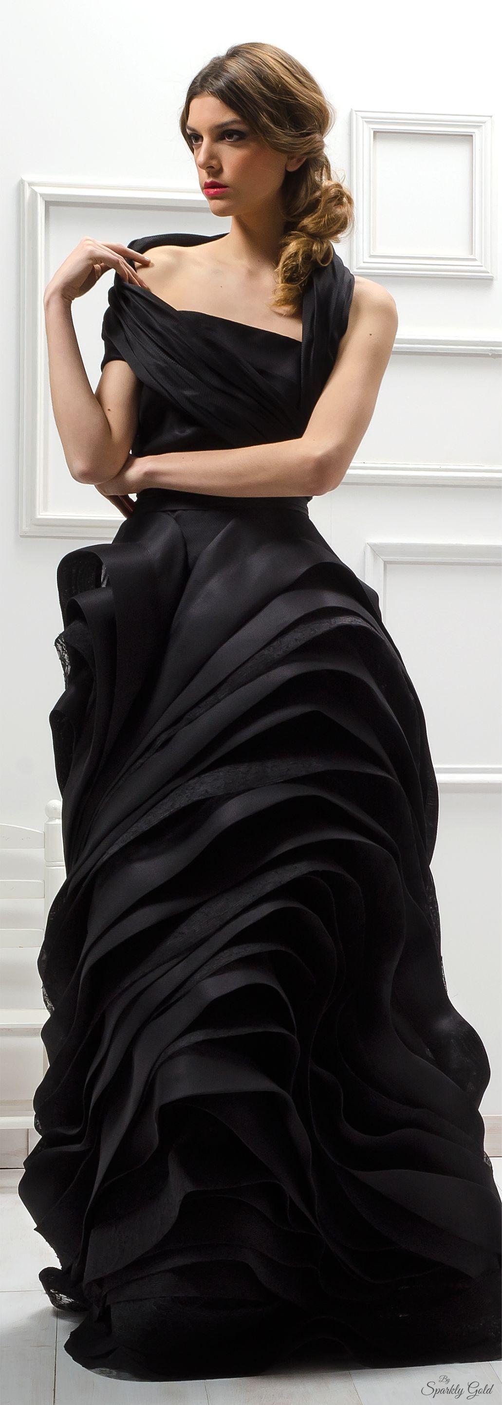 Isabel sanchis dresses pinterest gowns black and fashion black