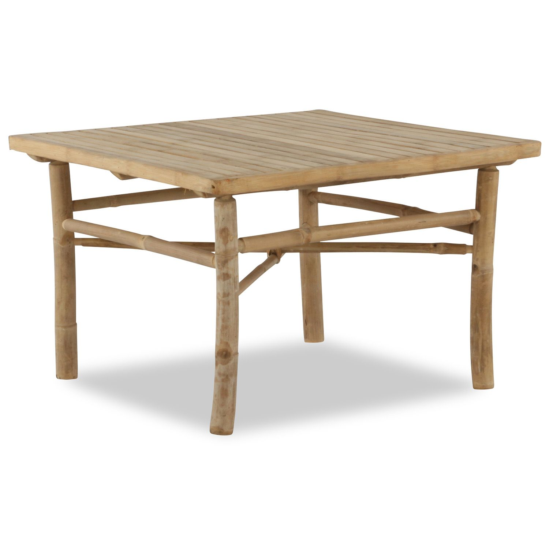 Bambusoffbord 70x70 Cm Furniture Table Decor