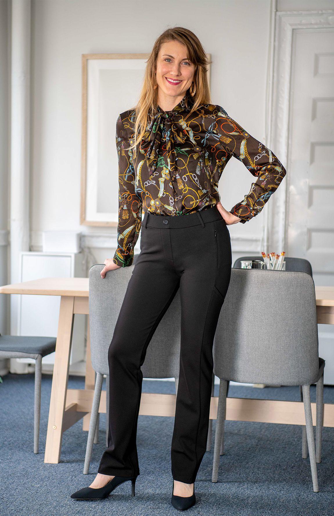Straight Leg Plentiful Pocket Dress Pant Yoga Pants Black Dress Yoga Pants Pocket Dress Clothes [ 1774 x 1150 Pixel ]