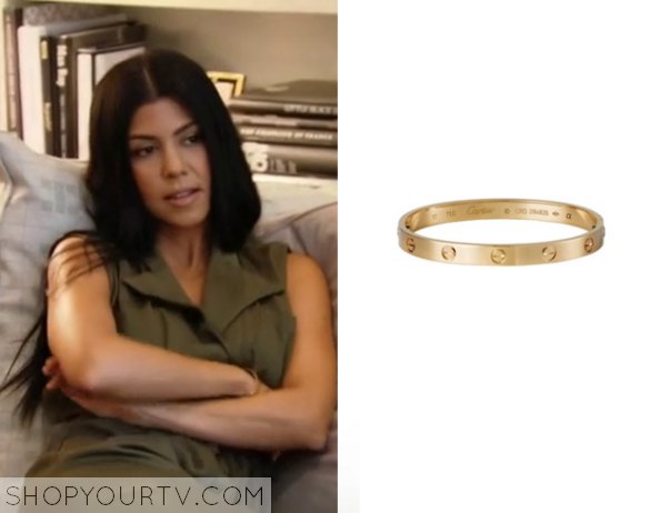 Kuwtk Season 11 Episode 6 Kourtney S Gold Bracelet Deep