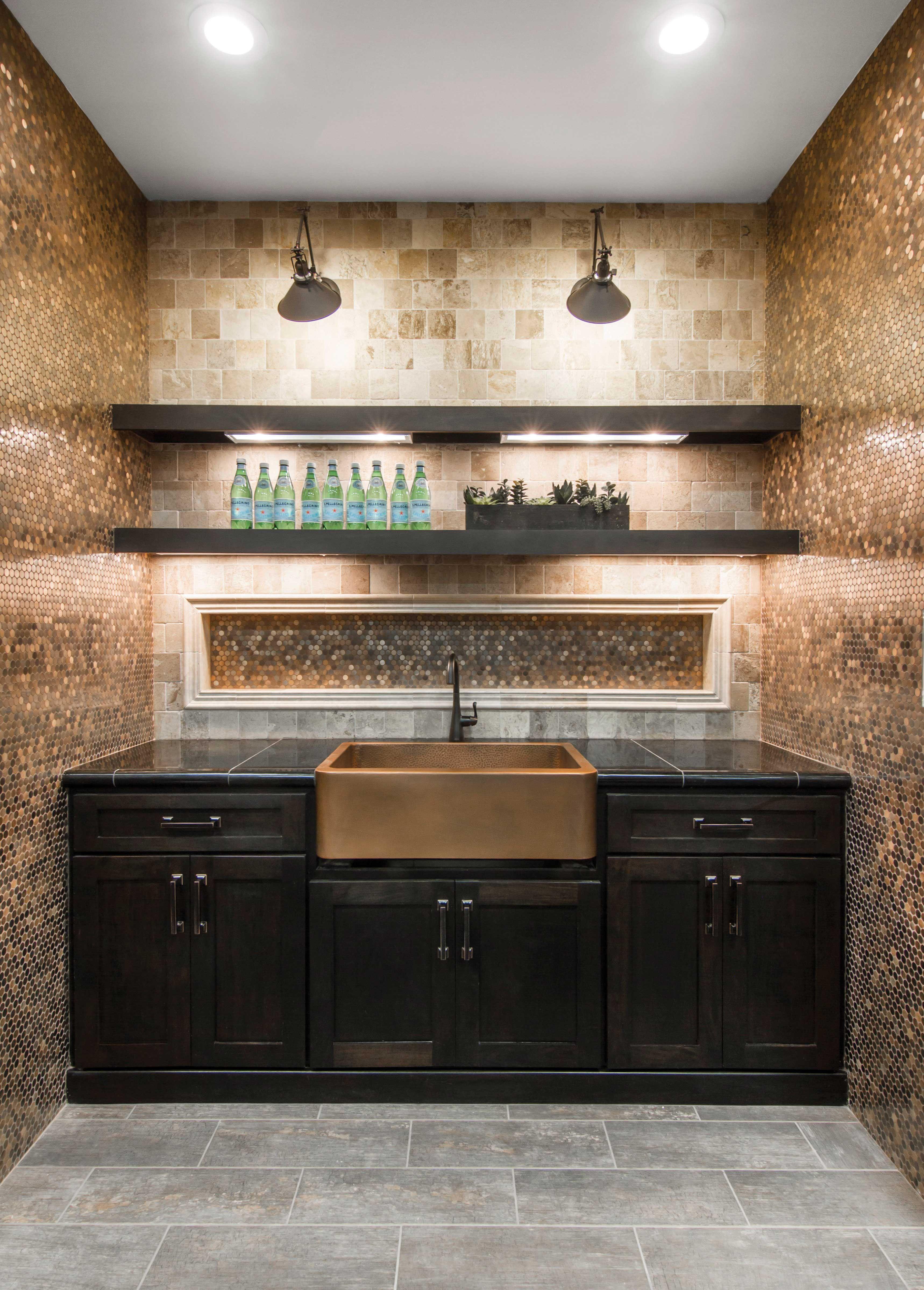 Wood-like home bar or kitchen floor tile - Ledet ceramic tile https ...