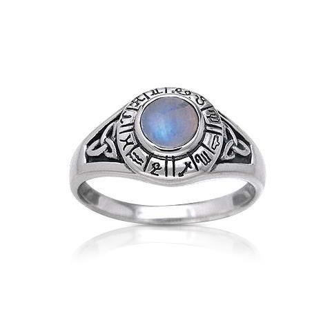R00661OP SHABLOOL ISRAEL Didae Blue Opal Sterling Silver 925 Ring Sz 6 7 8 9