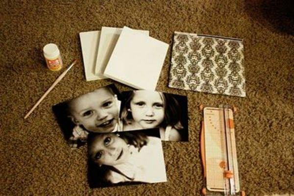 100 fotocollagen erstellen fotos auf leinwand selber machen kreativ pinterest. Black Bedroom Furniture Sets. Home Design Ideas