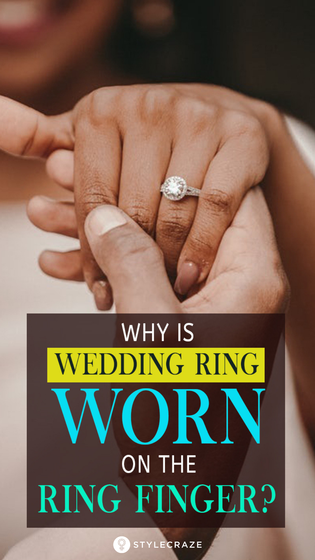 Ever Wondered Why The Wedding Ring Is Worn On The 4th Finger Here S Why Wedding Rings Round Engagement Rings On Finger Cool Wedding Rings
