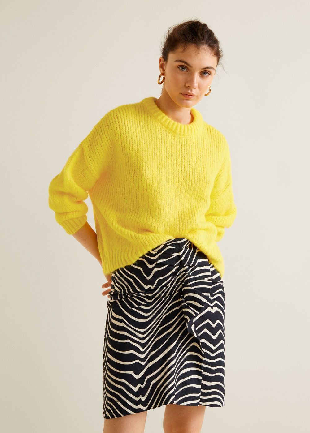 Jersey punto grueso - Cárdigans y jerséis de Mujer  f3a9284f085