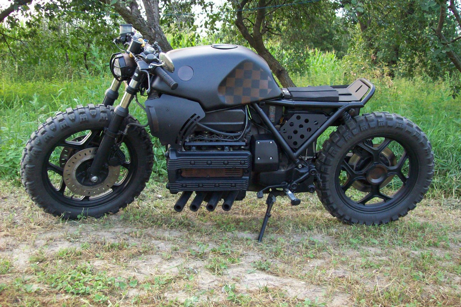 bmw k 100 scrambler cafe racer in auto motorrad. Black Bedroom Furniture Sets. Home Design Ideas