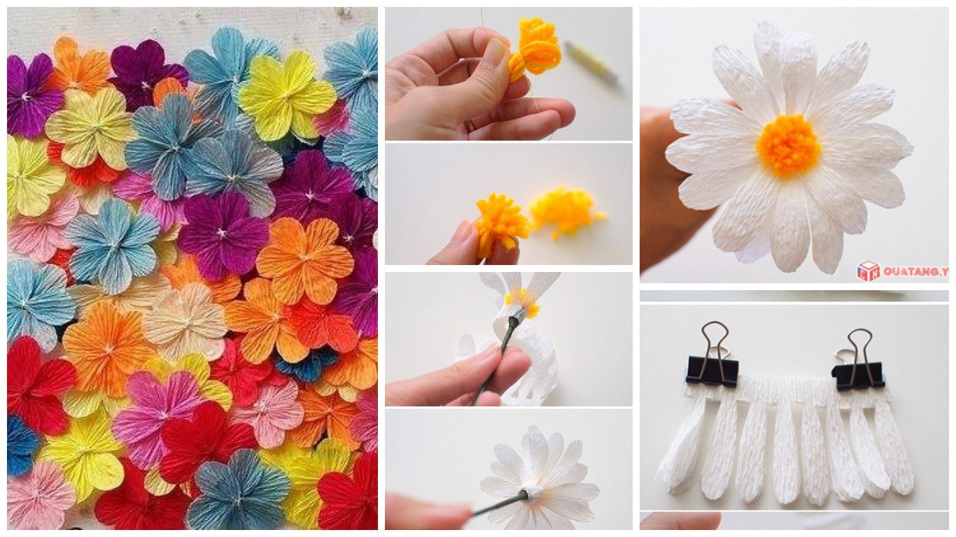 How To Make Paper Daisy Flower Girl Scouts Daisy Pinterest